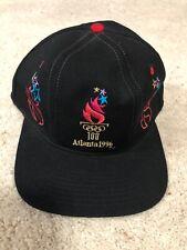 Vintage 90s Atlanta Olympics Snapback Hat Logo Athletic Starter 1996 Cap