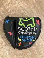 Scotty Cameron Custom Freestyle Neon Junk Yard Dog Mid Round Rh Putter Headcover