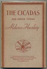 Aldous HUXLEY / The Cicadas and Other Poems First Edition 1931