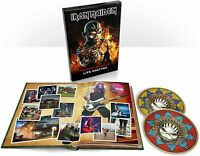 Iron Maiden - The Book of Souls: Live Chapter [2 CD & Book] Deluxe BoxSet - NEW