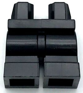Lego New Black Hips and Medium Length Legs Movable Pants Piece