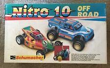Vintage Schumacher Nitro 10 ~ Box Only With Parts List