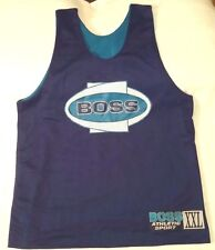 Boss Athletic Sport reversible basketball jersey men sz 2XL teal/purple vtg 90s