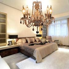 Ridgeyard Elegant Crystal Chandelier Xmas Ceiling 4 Light Pendant Home Fixture