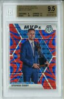 2020 Panini Mosaic Blue Reactive STEPHEN CURRY-KYLE LOWRY BGS ERROR Card BGS 9.5
