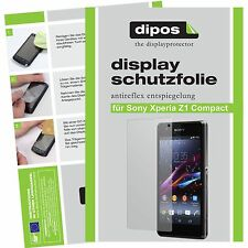 Sony Xperia Z1 Compact Lámina protectora de pantalla mate Dipos