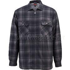 Wolverine Flannel Jacket Mens Plaid MARSHALL SHIRT Sherpa Fleece  Lined Jacket