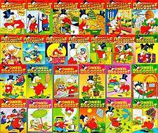25 Onkel Dagobert Taschenbücher  - Nr. 1-82