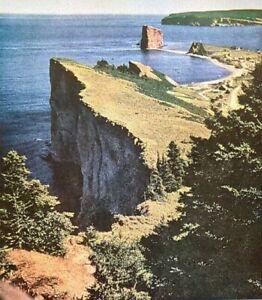 1948 Canadian National Railway Canada Jasper Park Lodge Quebec Vintage Print Ad