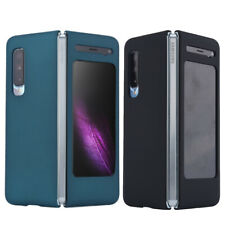 For Samsung Galaxy Fold Luxury 360 Shockproof PC Frosted Matte Case Bumper Cover