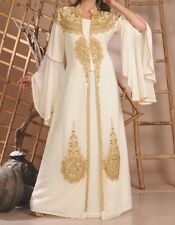 Arabic Bride Dress / Moroccan Kaftan - Size 12-14-16