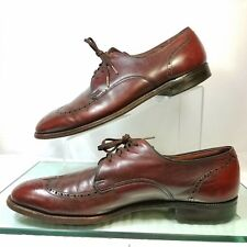 Breather Wright Arch Preserver Brown Leather Wingtip Oxford Shoes Mens 11.5 B