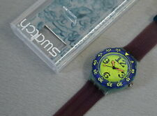 Swatch Scuba 200 Spray Up SDN103 Quartz Armbanduhr ungetragen Vintage 90er J.
