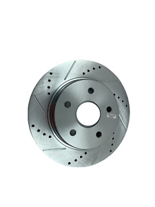 Disc Brake Rotor-Cross-Drilled Slotted Front Power Stop AR8750XL
