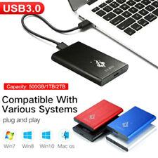 USB 3.0 2TB 1TB External Hard Drive Disks HDD 2.5'' Fit For PC Laptop Portab YK