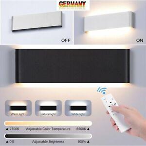 20W Dimmbar Cube Würfel LED Wand Leuchte Lampe Up Down Innen Modern 2700K-6500K