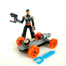 Action Man A.T.O.M. Alpha Teens on Machines Action Man ATOM Turbo Board Axel
