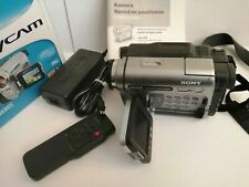 SONY HANDYCAM DCR-TRV285E CAMCORDER DIGITAL 8 VIDEO CAMERA TAPE DIGITAL8
