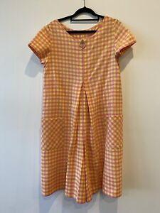 Vintage Check Jumpsuit - Size L