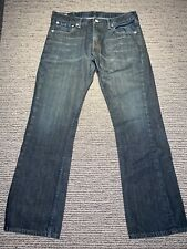 Mens Levi Strauss & Co. 527 Jeans Washed Black Size 33W X 30L