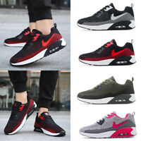 Men's Air Cushion Running Sports Sneakers Air Casual Shoes Flyknit Flywire Shoes