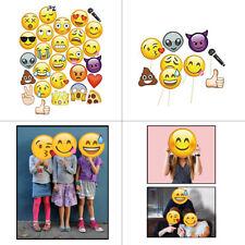 Emoji Gesichter Slefie Fotokabine Lustig Maske Requisiten Hochzeit Kinder Party