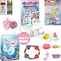 Girls Mermaid Party Bag & Fillers For Birthday Party Bags Toys
