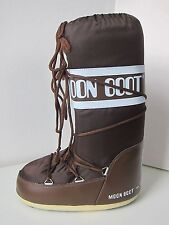 Tecnica MOON BOOT Nylon braun Gr. 35/38 Moon Boots Moonboots marrone brown