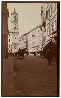 Nice Francia Costa Azzurra Istantanea snapshot, Vintage Stampa Aristotipia, Ca.