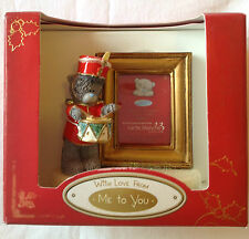 ME TO YOU CHRISTMAS SMALL SOLDIER BEAR & FRAME IDEAL XMAS