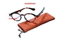 Herren Lesebrille Lesehilfe braun Kunststoff Brille 1,0 1,5 2,0 2,5 3,0 3,5 Neu