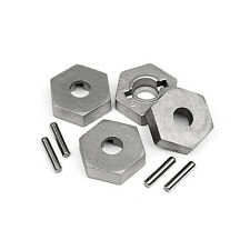Hpi racing 17mm hex et pin set 4pcs trophy truggy flux 4.6 101190