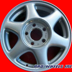 "OLDSMOBILE SILHOUETTE 2001 2002 15"" SILVER FACTORY ORIGINAL OEM WHEEL RIM 6044"