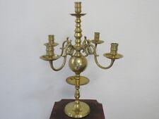 Antike Tisch Kerzenständer in Messing masiv