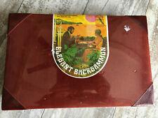 SEALED Vintage 1976 Elegant Backgammon Board Game w/ Cordoruy Attache Case