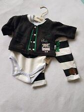 Cooles Baby Boy Junge 3tlg Set Langarm Body+ Hose + Jacke, Löwe NEU Gr.68 Wild