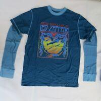 Led Zeppelin Blimp Thermal Twofer - XL-Licensed T-Shirt-Brand New
