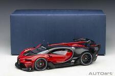 Autoart BUGATTI VISION GRAN TURISMO ITALIAN RED/BLACK CARBON 1/18 Scale Preorder