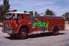 Fire Truck Photo San Bernardino IHC CO Van Pelt Engine Apparatus Madderom