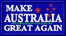 MAKE AUSTRALIA GREAT AGAIN  VEST PATCHES