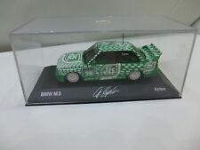 BMW M3 E30 1:43 DTM TIC TAC #36 Fahrer: Franz Engstler  +Autogramm MINICHAMPS