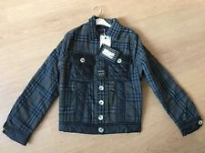 2 Di Picche Italy Recycled Burberry Jacket Size L Small Fit BNWT