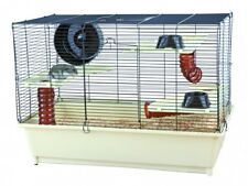 Trixie Hamsterkäfig mit Grundausstattung 62 �— 46 �— 36 cm creme/braun