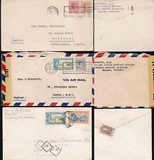 George VI (1936-1952) Cover Bahamian Stamps (Pre-1973)