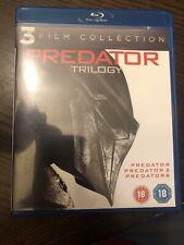 Predator Movie Trilogy Film Collection [3-Disc Blu-ray Set]