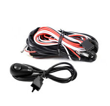 UNIVERSAL WIRING HARNESS KIT FOR FOG DRIVING WORK LIGHT LAMP W/FUSE+RELAY+SWITCH
