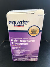 Equate Hair Regrowth Women Treatment 3 Month Supply  Bottles exp 2019