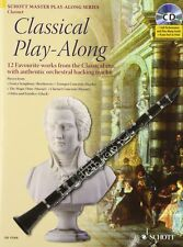 Classical Play-Along, 12 Favorite Works from the Classical Era, Book/Cd Set, 490