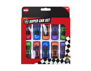 pack of 10 Mini Sports Cars Kids Gift Set Xmas Racing Vehicle Kids Play Toy