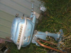 Evinrude  3  hp OUTBOARD Boat Freshwater